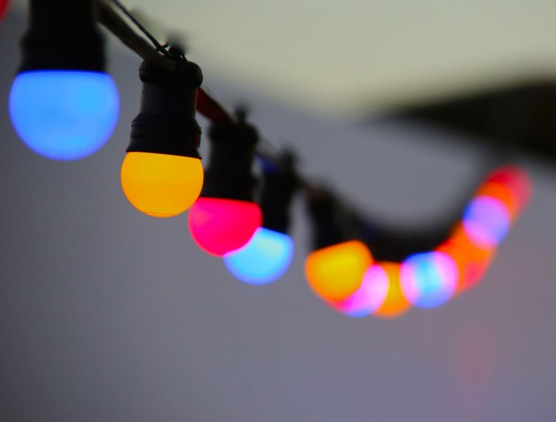 LED Festoon lighting